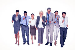 Business people running together Stock Image