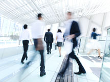 Business People in a Rush Hour Royalty Free Stock Photo