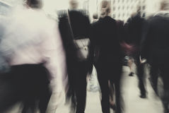 Business People Rush Hour Busy Walking Commuter Concept Royalty Free Stock Images