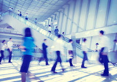 Business People Rush Hour Concepts Royalty Free Stock Photos