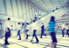 Business People Rush Hour Concepts Stock Image