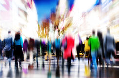 Business People Rush Hour Walking Commuting City Concept Royalty Free Stock Images