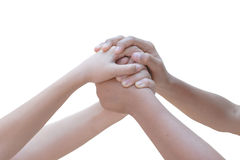Business people's hands Royalty Free Stock Images