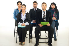 Business people at seminar Stock Photos