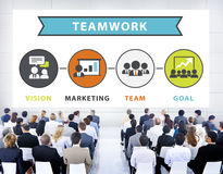 Business People Seminar Conference Connection Teamwork Concept Royalty Free Stock Images