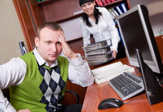 Business People Series Royalty Free Stock Photos