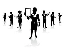 Business people set Royalty Free Stock Image