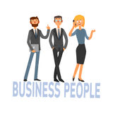 Business People Set 3 Royalty Free Stock Photo
