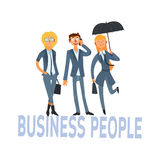 Business People Set 1 Stock Photography
