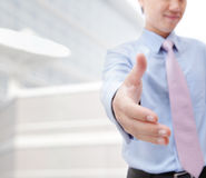 Business people shaking hand Stock Photo