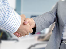 Business people shaking hands. Royalty Free Stock Images