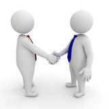 Business people shaking hands Stock Photos