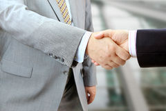 Business people shaking hands Royalty Free Stock Image