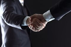Business people shaking hands, Royalty Free Stock Image
