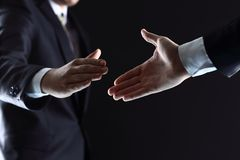 Business people shaking hands, Stock Photos