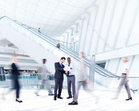 Business People in a Shopping Mall Stock Photography
