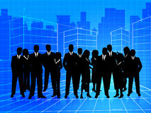 Business People Shows Businesspeople Corporate And Teamwork Stock Photo
