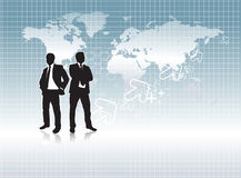 Business people silhouette Royalty Free Stock Image