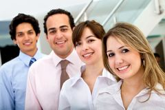 Business people smiling Royalty Free Stock Image