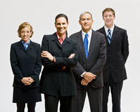 Business people smiling Stock Photo