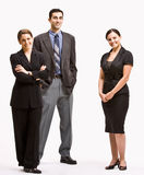 Business people smiling Royalty Free Stock Photo