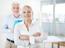 Business People Smiling Royalty Free Stock Photography