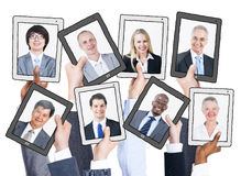 Business People and Social Networking Concepts Royalty Free Stock Images