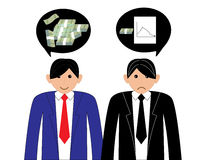 Business. People with speech bubbles Royalty Free Stock Photos