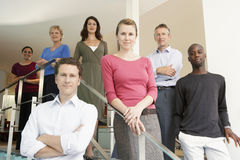 Business People Standing In Office Royalty Free Stock Photography