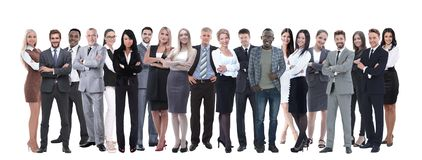 Young attractive business people - the elite business team royalty free stock images