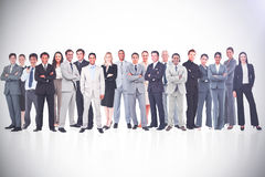 Business people standing up Stock Image