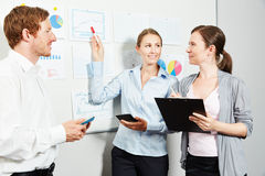 Business people in start-up company royalty free stock images