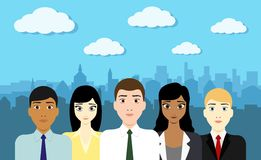 Business people startup team Stock Photo