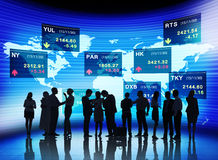 Business People Stock Exchange Concepts Royalty Free Stock Photography