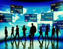 Business People Stock Exchange Market Trading Concept Royalty Free Stock Photography