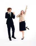 Business people - success Stock Photo