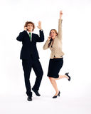 Business people - success Stock Photography