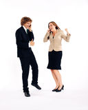Business people - success Royalty Free Stock Image