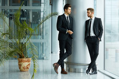 Business People. Successful business partners discuss project Stock Photos