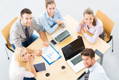 Business people at table Royalty Free Stock Photography