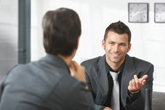 Business people talking Stock Image