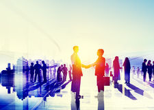 Business People Talking Connection Conversation Concept royalty free illustration