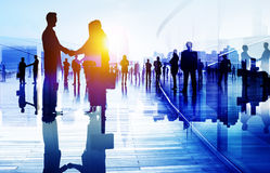 Business People Talking Connection Conversation Concept Royalty Free Stock Image