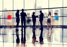Business People Talking Conversation Communication Concept. Business People Talking Conversation Communication Interaction Concept Royalty Free Stock Photos