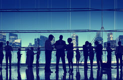Business People Talking Conversation Communication Interaction C Stock Images