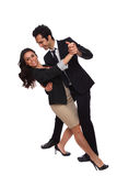 Business people tango dip Royalty Free Stock Image