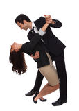 Business people tango dip Stock Photo
