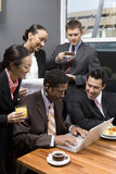 Business People On A Tea Break Stock Images