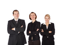 Business people and team. Royalty Free Stock Photography