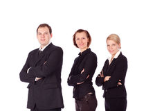 Business people and team. Stock Image